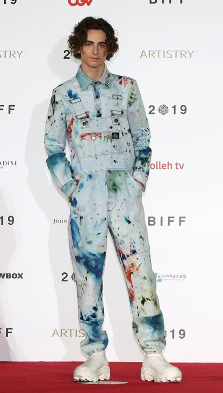 Is it too soon to crown him the best dressed of the decade? #TimothéeChalamet #Style #Celebrity #TheKit