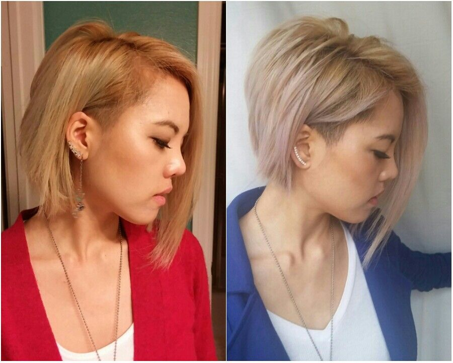 Cut Shorter Layers In The Back For A Sharper More Defined - Bob hairstyle definition