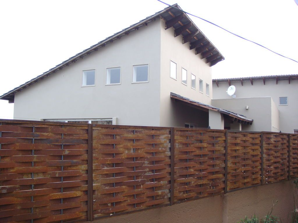Steel Privacy Screening Fences Steel And Retaining Walls