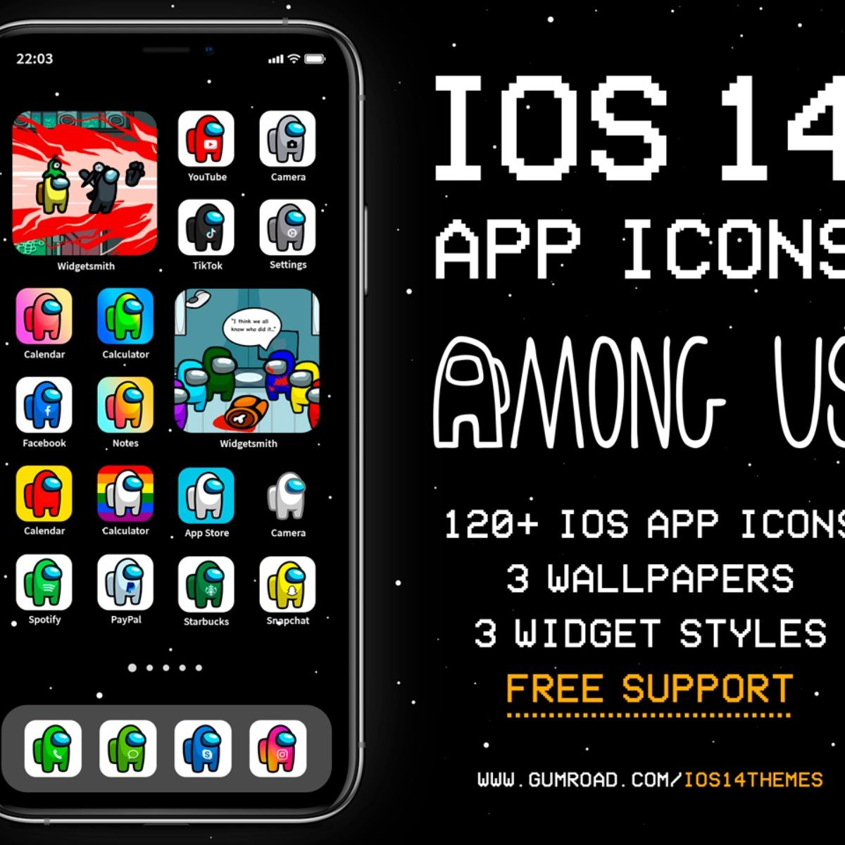 Among Us Ios 14 App Icons Ios14 Among Us Aesthetic Home Screen Iphone Icons Among Us Iphone Theme In 2020 App Icon Themes App Iphone Icon