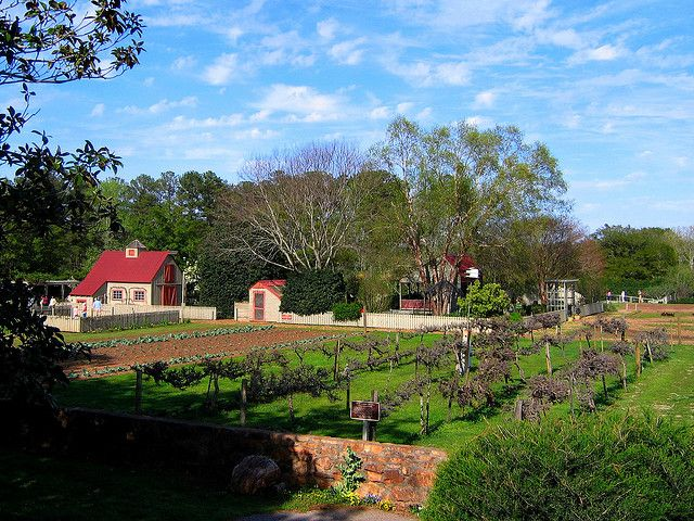 Mr Cason S Vegetable Garden At Callaway Gardens Farm Gardens