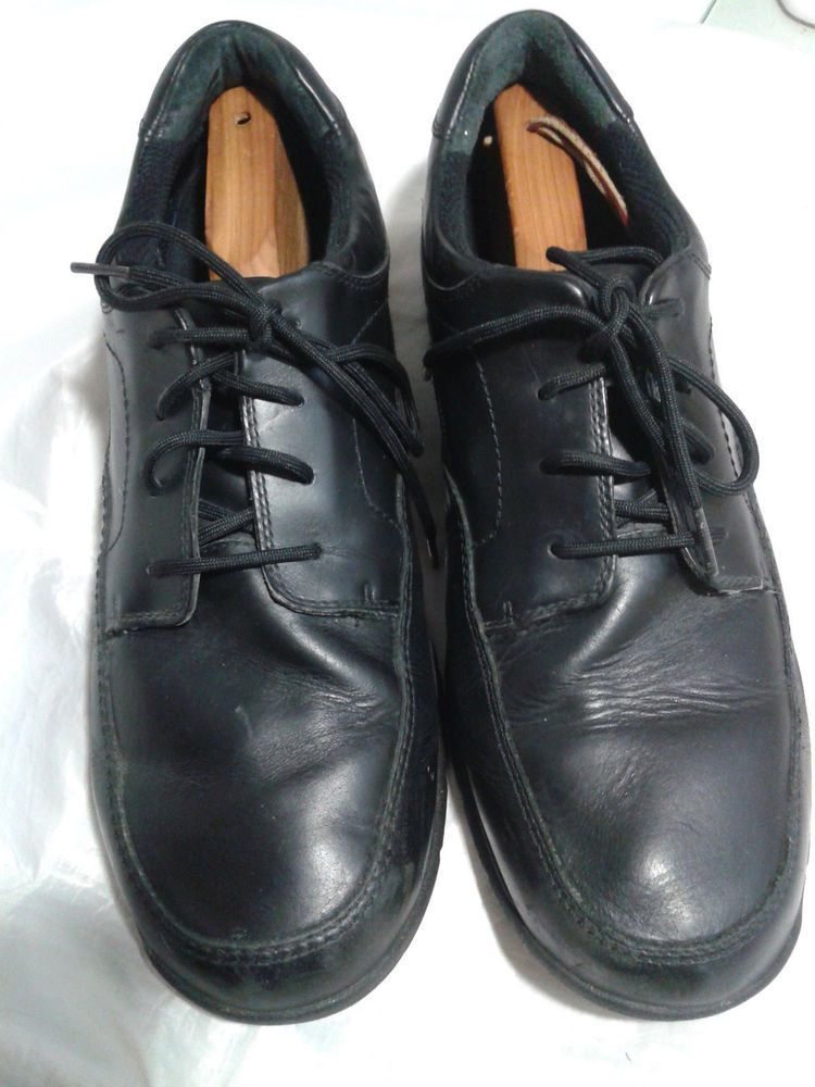 1ae26dceb77b1 Dunham by New Balance Men's Black Leather Casual Oxfords Size 14 D  #DunhambyNewBalance #Oxfords