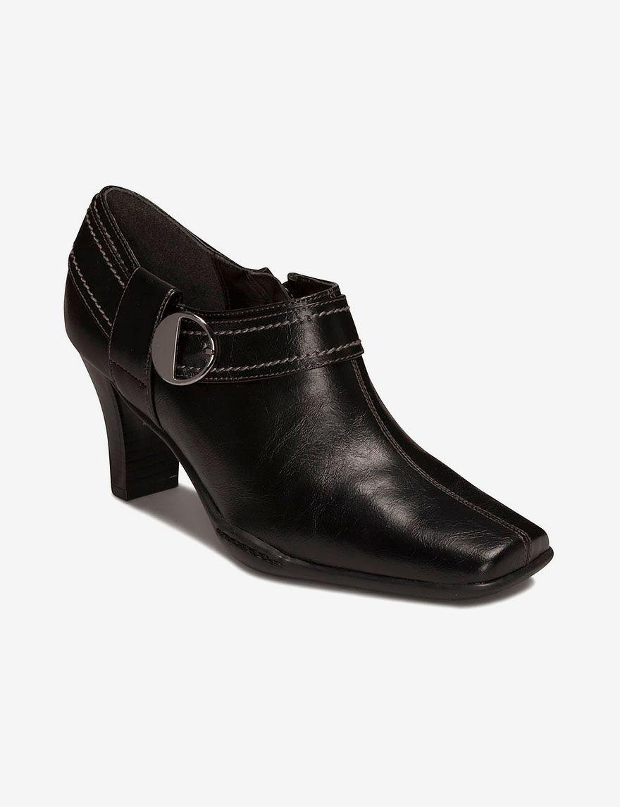 Dress Booties  in Black