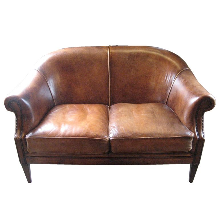 vintage leather love seat coastal pinterest vintage leather rh pinterest com