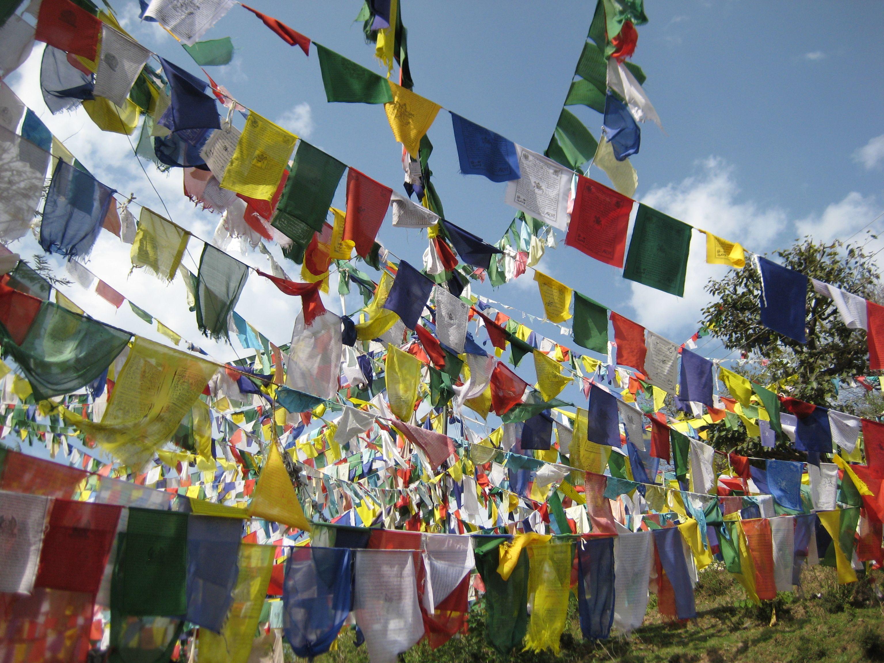 Prayer Flag Jungle Tibetan Prayer Flag Prayer Flags Bunting Garland