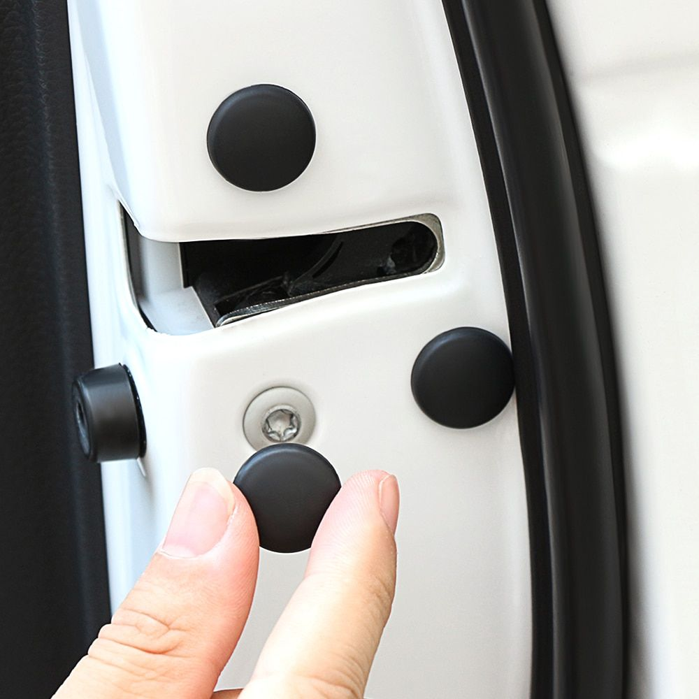 12pcs Car Door Lock Screw Protector Cover For Honda Civic Fit Jazz Cr V Crv Hr V Accord Odyssey Jade City Crider Attent Car Door Lock Car Door Door Locks