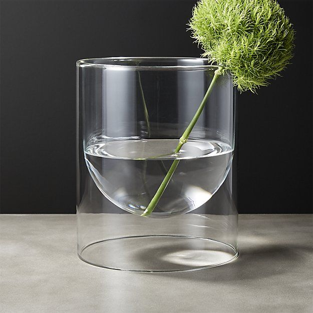 Double Wall Glass Vase Need Pinterest Glass Display And Walls