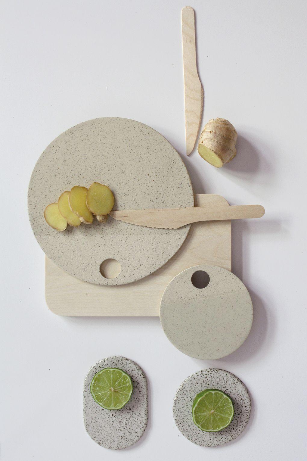 // Handmade with speckled stoneware. // Transparent glossy on upper part. Unglazed on the back. #ceramics #handmadeceramics #tray #serving #tableware #housewares #clay #design #ceramicdesign #pottery #philokceramics
