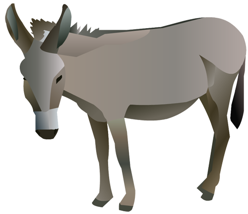 free donkey clipart illustrations