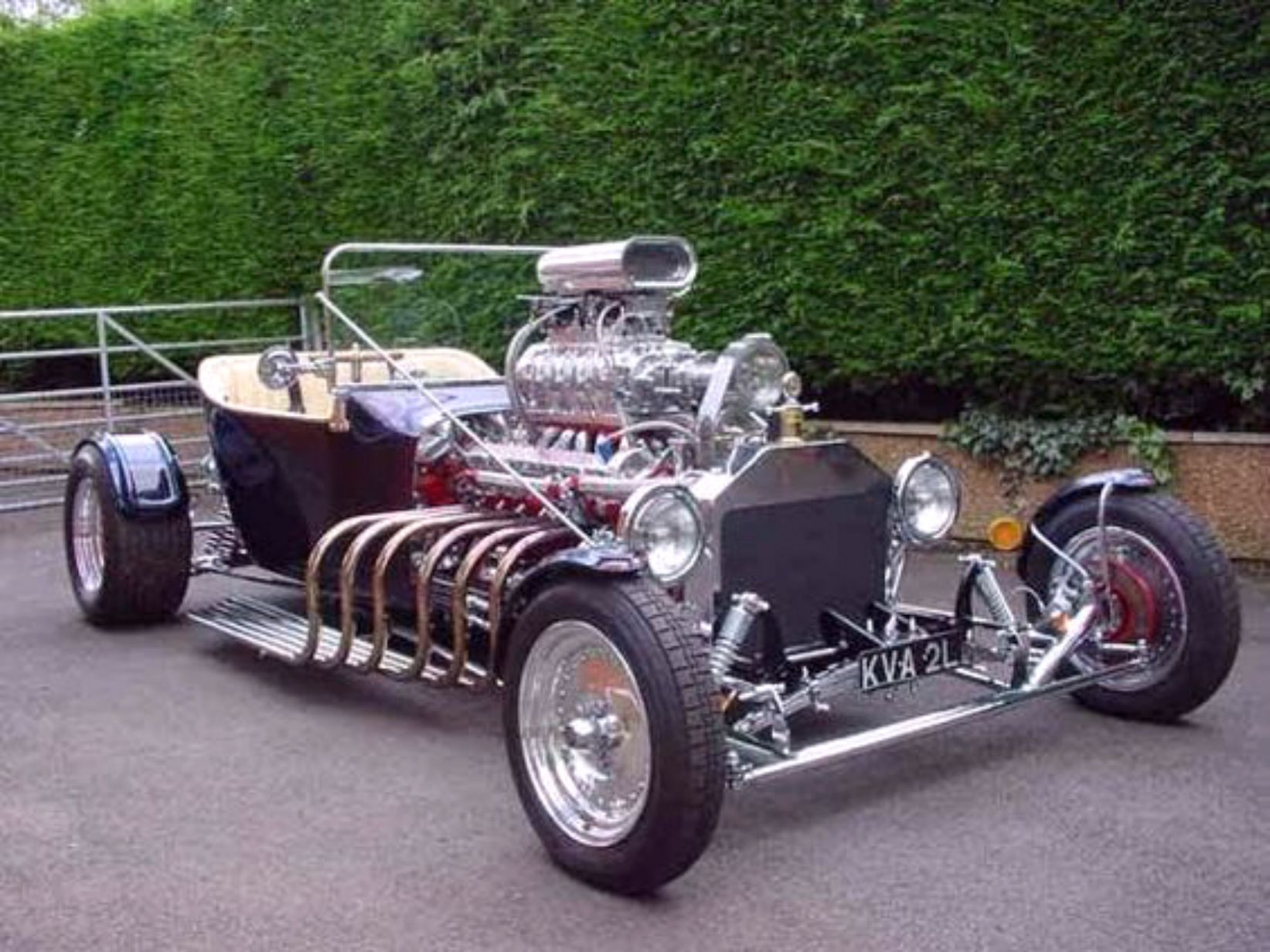 Ford T Bucket With Jaguar V12 Supercharged Engine Hot Rods Cars Muscle Hot Rods Hot Rods Cars