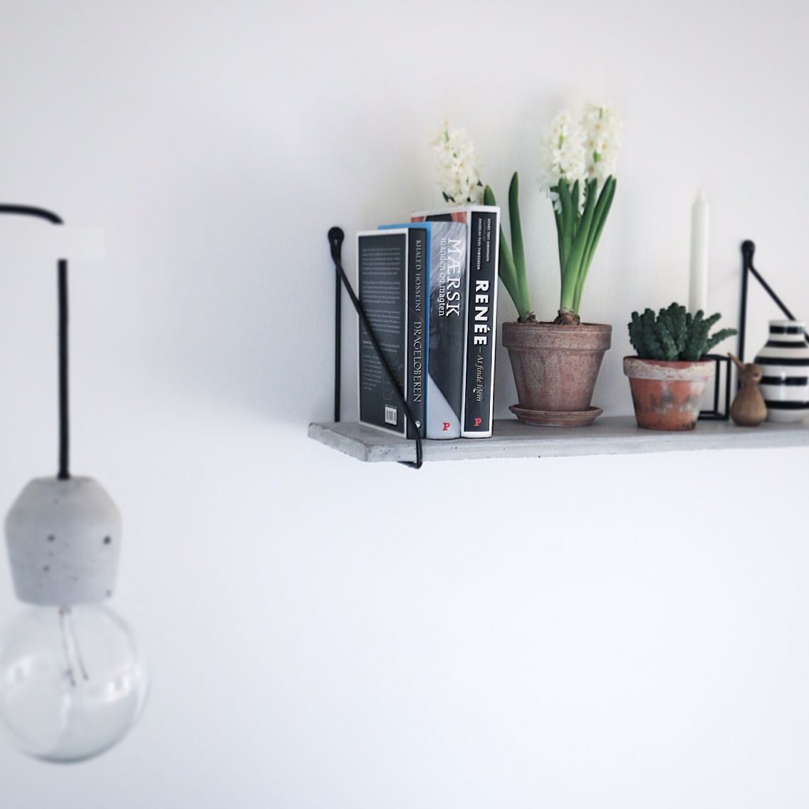 Fantastisk Moderne hylde af beton @fornydinbolig | Indret med beton i 2019 MO84