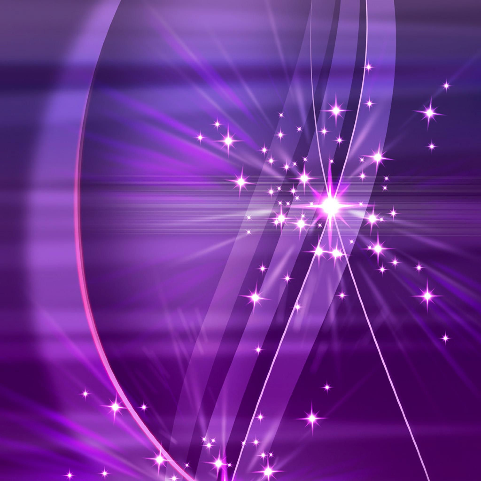 Abstract HD Simply Violet Sparks 3D Wallpapers Wallpaper