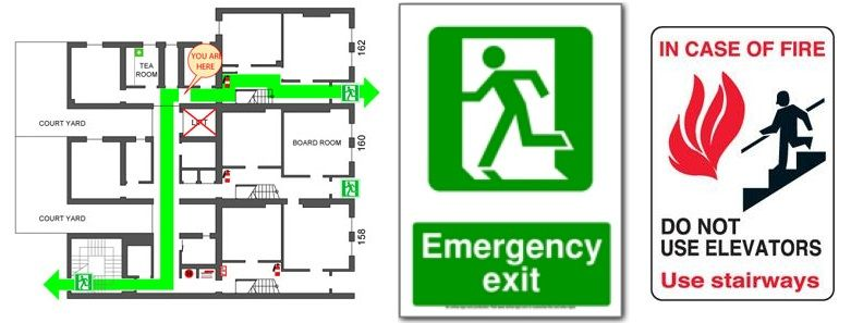 Why do you need a fire evacuation plan for your business - evacuation plan templates