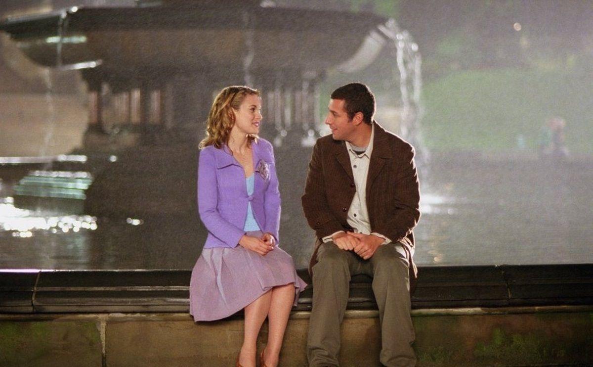 Winona Ryder And Adam Sandler In Mr Deeds 2002 Best Movie Couples Movie Couples Winona Ryder