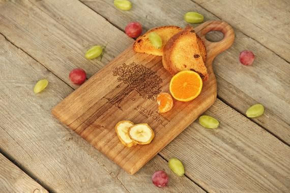 Wood Cutting Board, Kitchen Chopping Wooden Board, Best Gift For Mothers Day, Unique Design Wooden W #broomdolls