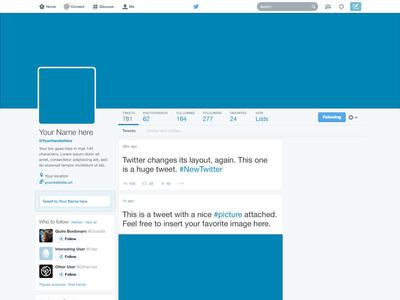 Freebie Twitter 2014 Gui Psd New Profile Template Twitter Template Psd Templates Banner Template