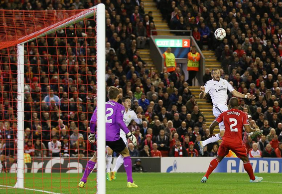 Liverpool 0-3 Real Madrid: Cristiano Ronaldo & co. sink Brendan Rodgers' Reds. Full report here - http://www.squawka.com/news/liverpool-0-3-real-madrid-cristiano-ronaldo-co-sink-brendan-rodgers-reds/202549#HK5kKcaYe6WJEe5Q.99