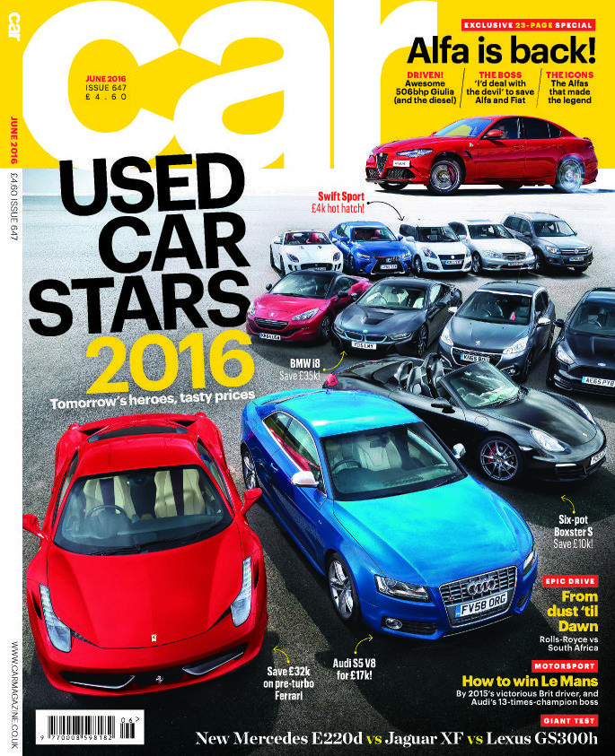 Discover the Used Car Stars of 2016 in the latest issue of Car ...