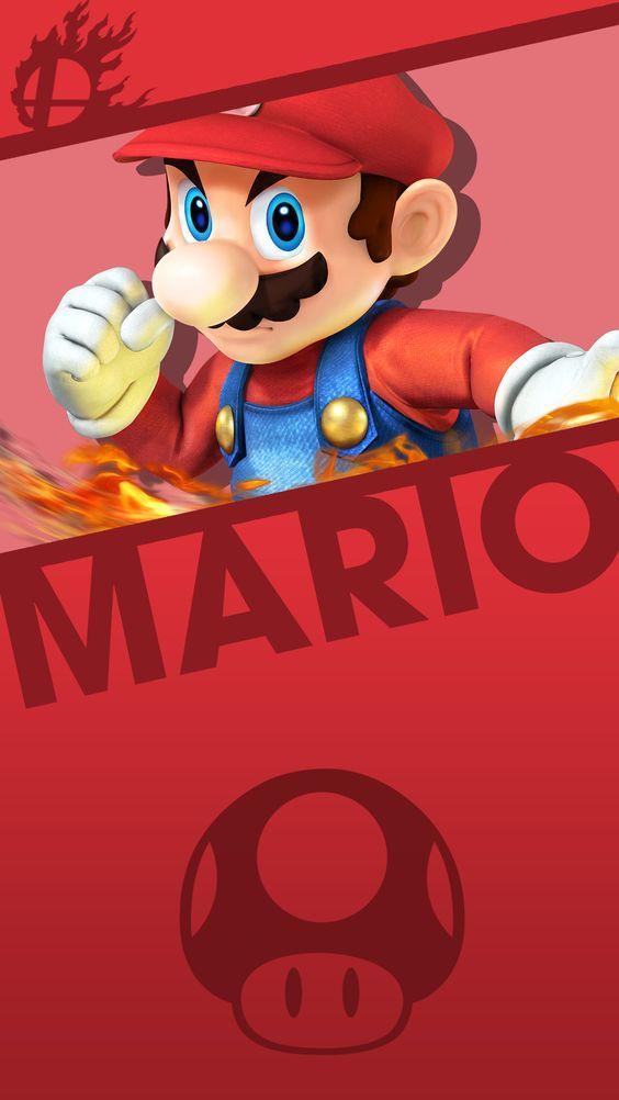 Papeis De Parede Do Mario Para Celular Papel De Parede Super Mario Art Mario Super Mario Bros