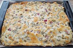Photo of Quark – rhubarb cake by stossing | chef