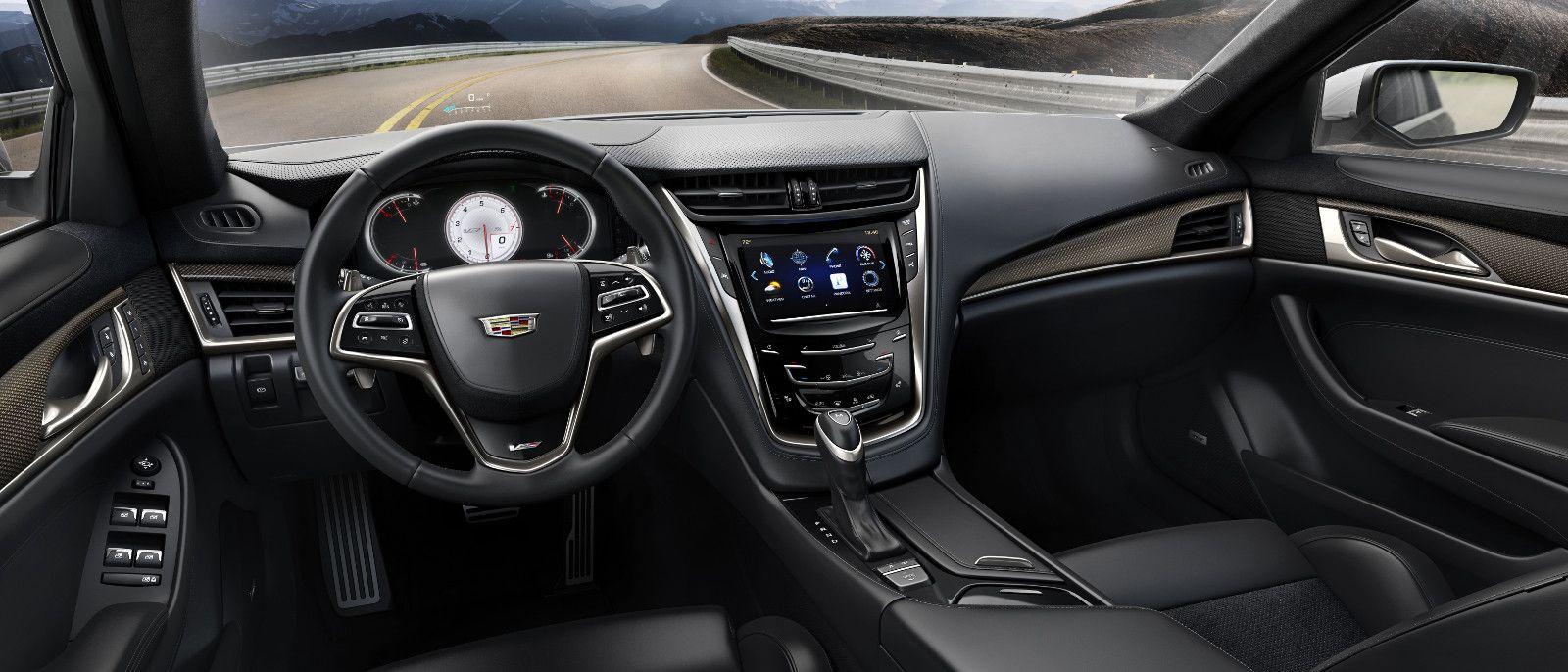 2016 Cadillac Cts V Sedan Interior