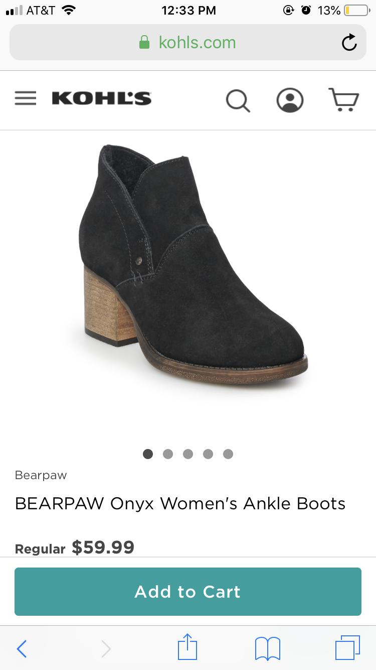BEARPAW Onyx Women's Ankle Boots