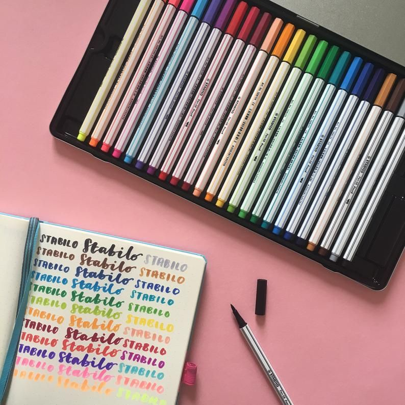 Stabilo Pen 68 Brush Markers Brush Markers Markers Best Pens