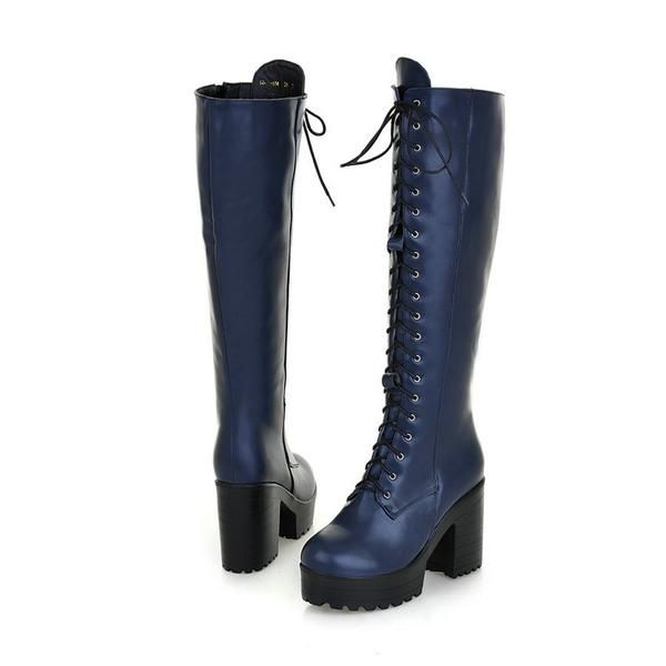Lace Up Punk Style Boots : Women's Boots : ReShop Store