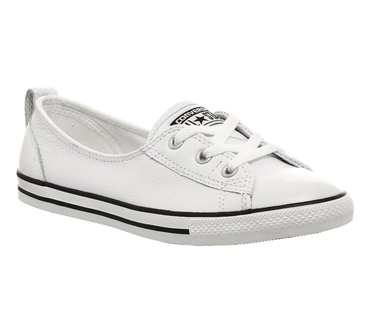 black converse trainers