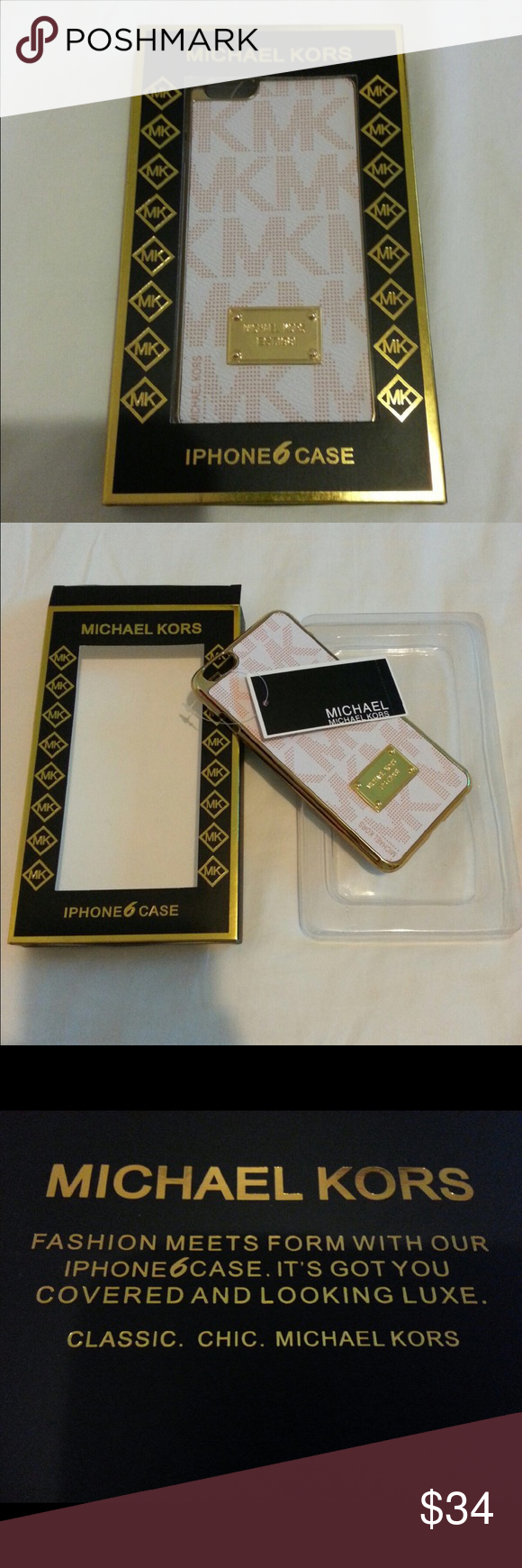 LUXURY MICHAEL KORS iPHONE CASES!!! LUXURY MICHAEL KORS iPHONE CASES!!!  BRAND NEW W/TAGS IN RETAIL PACKAGING!!!  AVAILABLE FOR iPHONE 6 PLUS & 6s PLUS!!!   VERY LUXURIOUS AND RARE!!!  RETAIL PRICE - $58.00 EACH!!!  GREAT GIFT IDEA!!!  CHECK MY LISTINGS FOR OTHER GREAT ITEMS!!!            Ignore: mk Michael kor kors Apple case cover cases covers Michael Kors Accessories Phone Cases