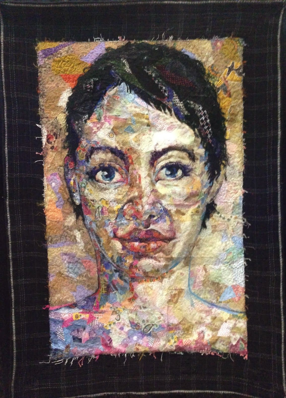 Shattered Face Quilt