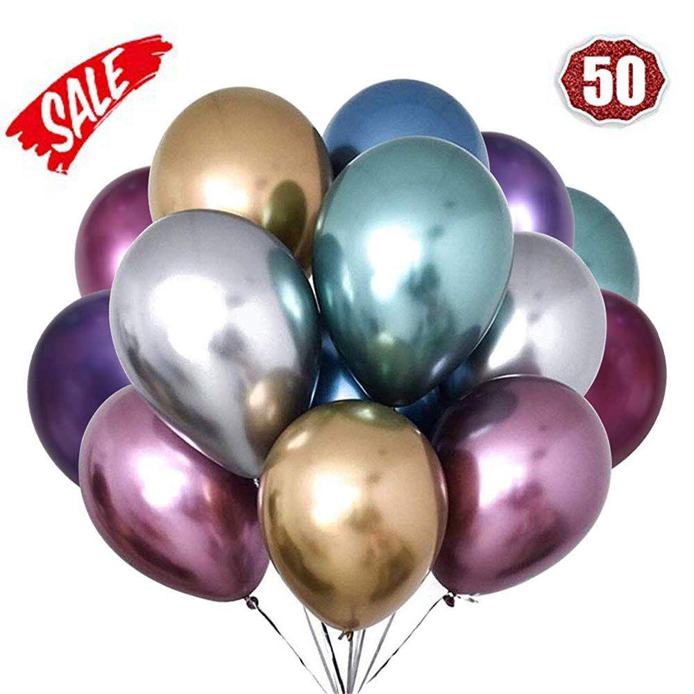 40th Globos De Cumpleaños Fiesta Decoraciones Pack 10 Accesorios Accesorios para hombres y mujeres
