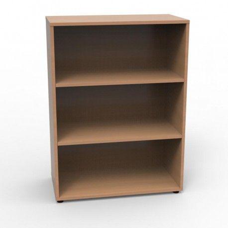 Armoire Rangement Opticlass Open Hetre Bookcase Shelves Home Decor