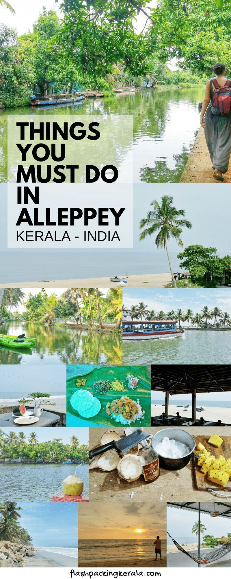 Alleppey Travel ULTIMATE Guide for backpackers in Kerala