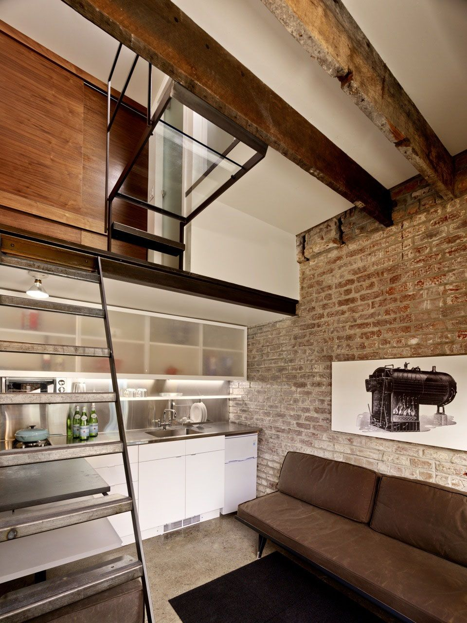 160 square foot small apartment in a brick house - san francisco
