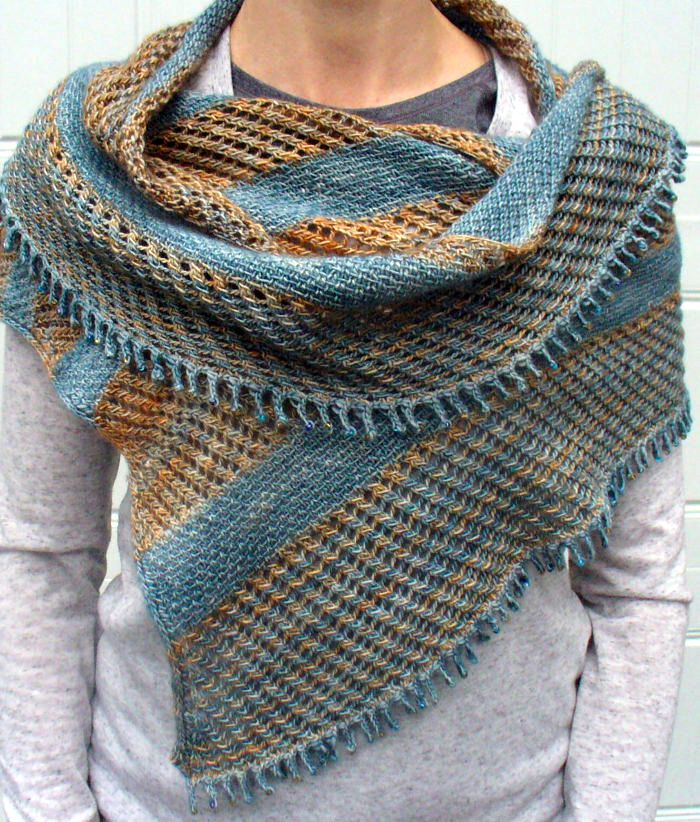 Knitting Pattern For Linen And Lace Wrap Crafty Things Pinterest