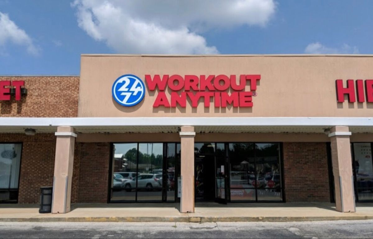 Manchester Tennessee Anytime Fitness Strength Training Equipment Gym Franchise