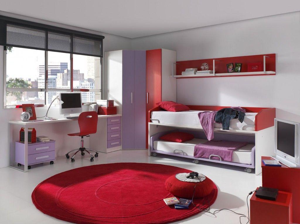 Dormitorios juveniles funcionales y bonitos muebles for Muebles juveniles zona norte