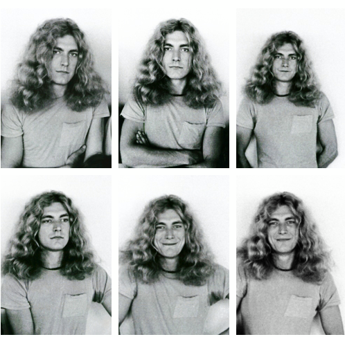 Awwwwww... Robert Plant!! He's adorable