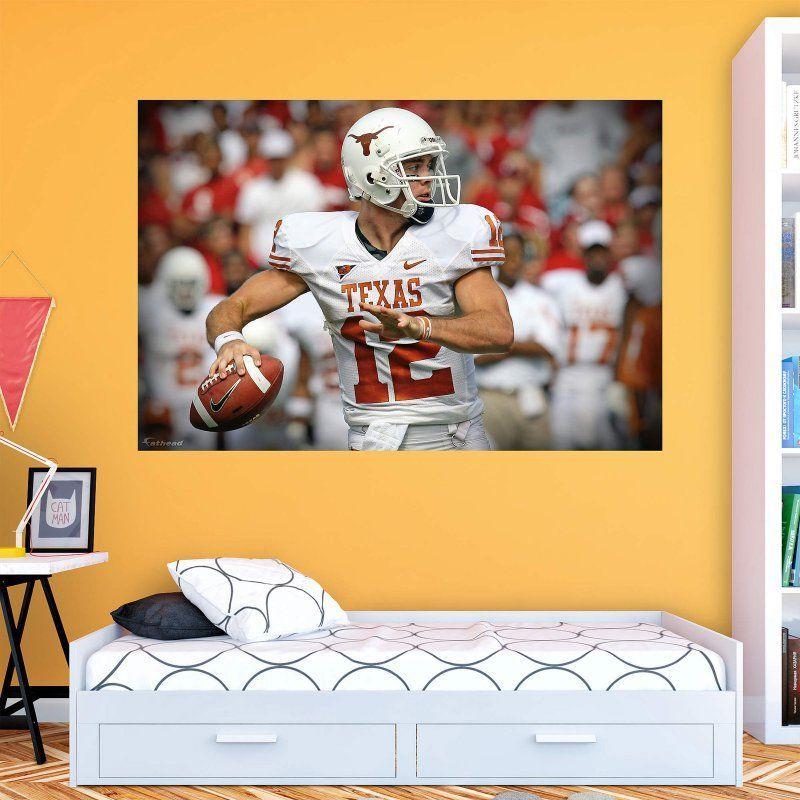 Fathead NCAA Texas Longhorns Colt McCoy Wall Mural - 12-20653 ...