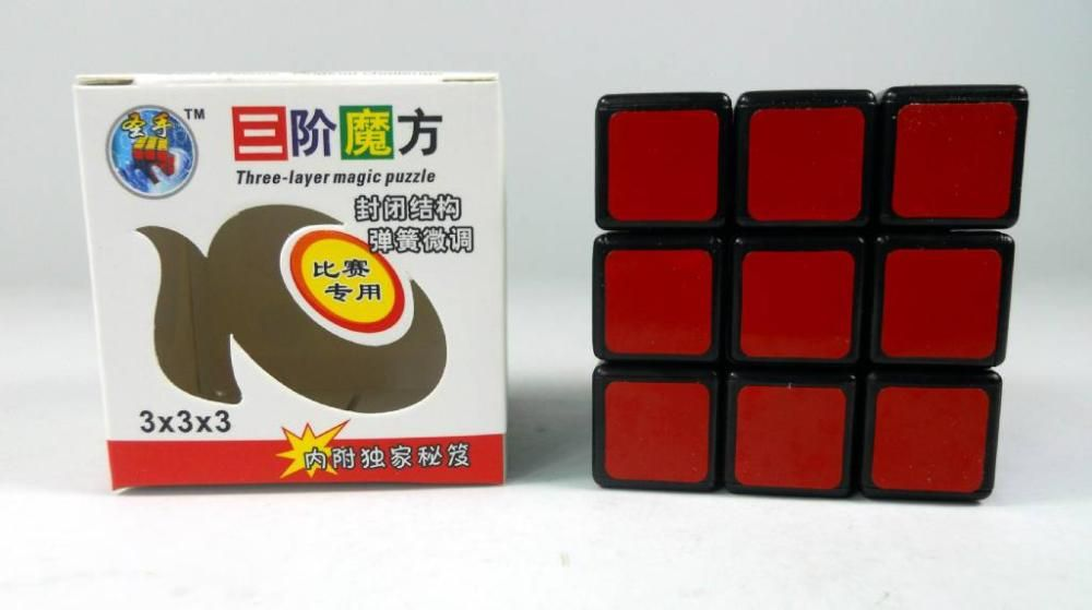 5 PCS shengshou 3x3 Magic Cube 3x3x3 High Speed cube Toys Black