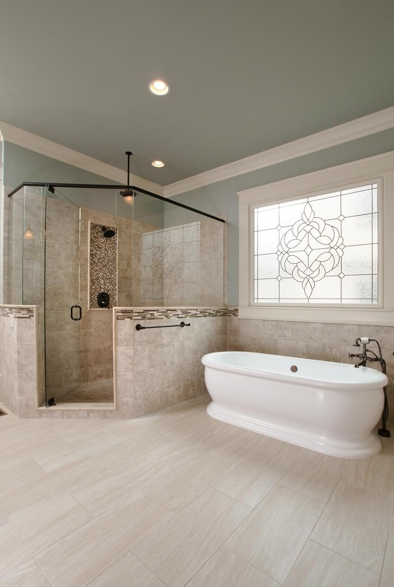 24 Luxury Master Bathrooms With Soaking Tubs | Luxury master ...