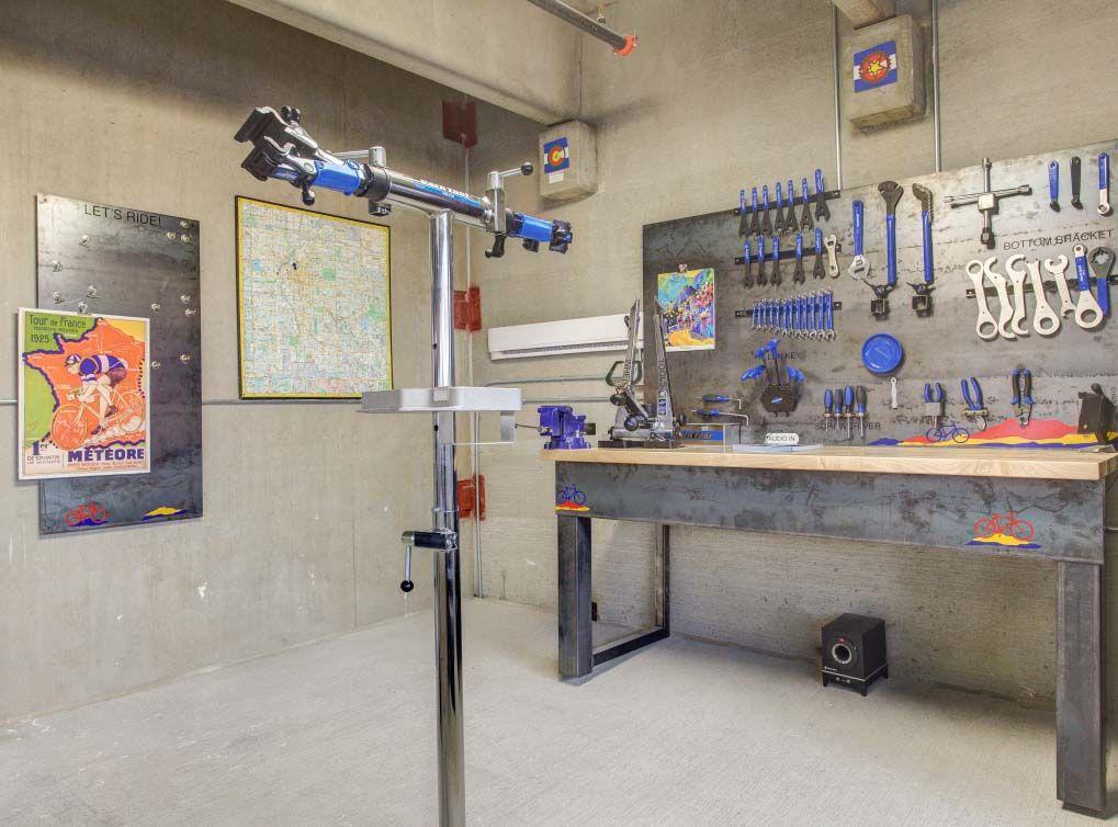 Resident Bicycle Repair Room And Ample Bicycle Storage At