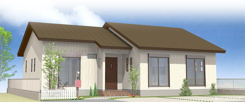 30坪 4ldk 平屋住宅 モデルハウス 合志市御代志 適正な住宅価格で