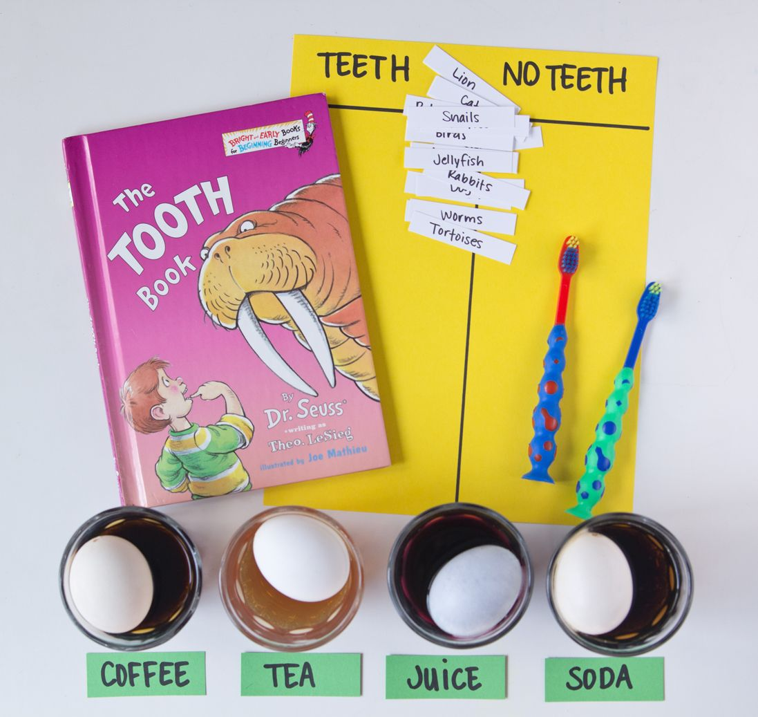The Tooth Book By Dr Seuss Activities