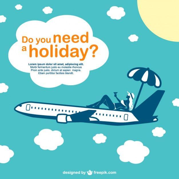 vacation vector airplane design freepik tropical pin 39 tropical rh pinterest ca