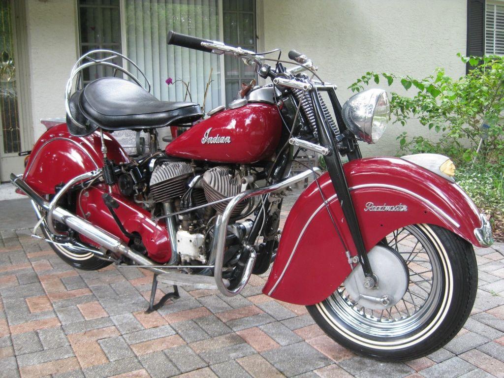 1947 Indian Chief Roadmaster Indian Motorcycle Indian Motorbike Indian Bike