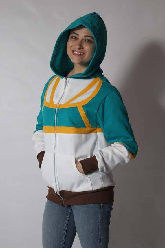Princess Zelda Breath Of The Wild Botw Cosplay Costume Hoodie Jacket