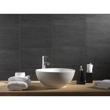Lambris Pvc Imitation Ciment Anthracite Grosfillex 260x375 Cm Ep 8 Mm Leroy Merlin Avec Images Lambris Pvc Lambris Revetement Salle De Bain