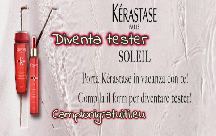 Diventa Tester Après-Soleil e Huile Sirène con Kerastase